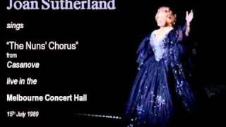 Joan Sutherland sings The Nuns