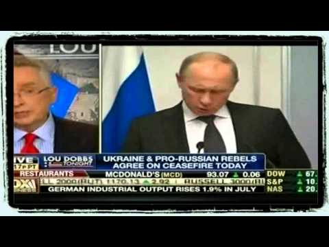 Obama Takes Credit For Ceasefire In Eastern Ukraine   Lt Col Ralph Peters   Lou Dobbs