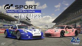 GT Sport - Porsche 911 RSR Retro Liveries | Le Mans 2018