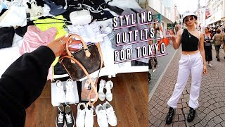packing outfits for tokyo japan + styling tips!