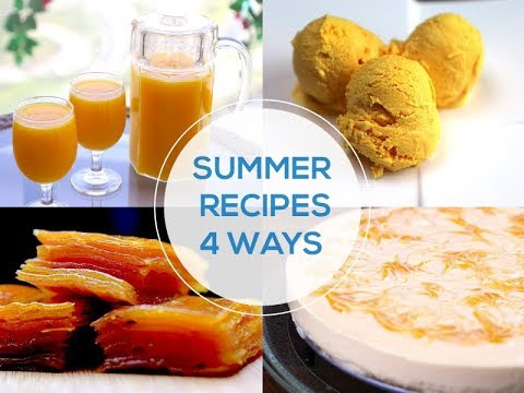 Summer special recipes 4 Ways - Summer recipes indian - Summer 2018 - Summer drink recipes