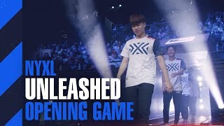 START OF THE OVERWATCH LEAGUE 2019 VS UPRISING | NYXL UNLEASHED