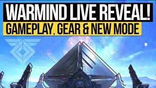 Destiny 2 | WARMIND LIVE REVEAL! - DLC Gameplay, Warmind Gear, New PvE Mode & Exotic Loot!