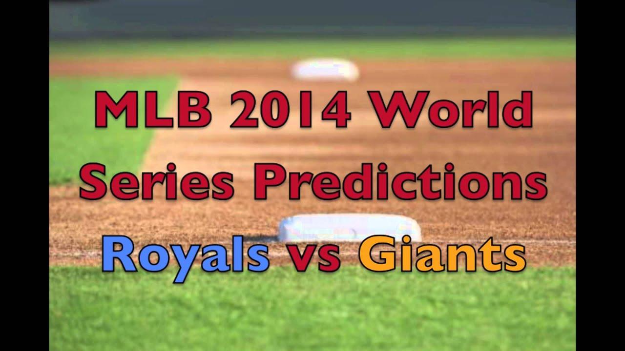MLB 2014 World Series Predictions - YouTube