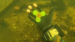 Download Song I Found a Fidget Spinner, 5 Phones and a Bike Underwater in the River! (Scuba Diving) Free StafaMp3