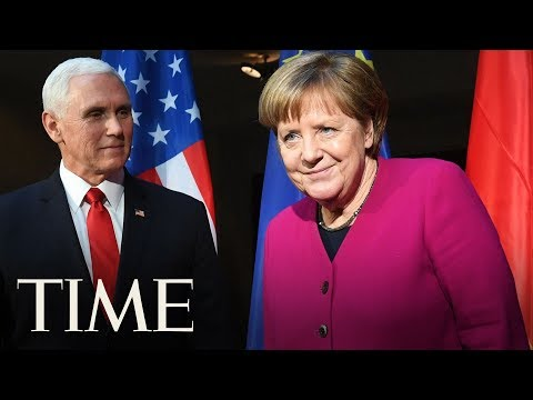 Chancellor Merkel Defends The Iran Nuclear Deal  TIME