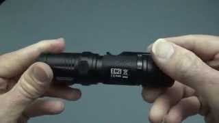 Nitecore EC21 Electronic Switch Demo.