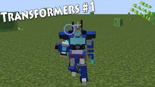Virei um Transformer! Minecraft mod Transformers #1