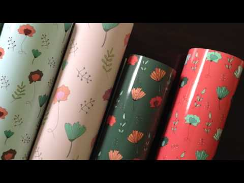 Design your own gift wrapping paper
