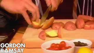 Perfect chips with Chris Moyles - Gordon Ramsay