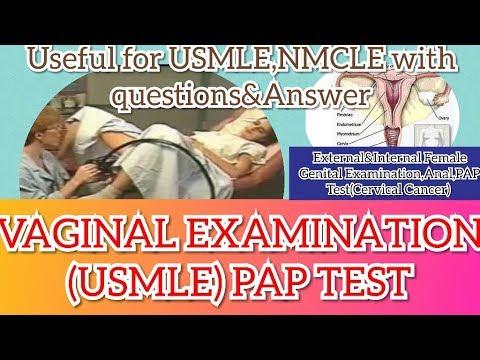 Vaginal Examination in USA || Vaginal Examination in USMLE || Female Genital Anatomy & Examination thumbnail