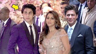 Shahrukh Khan's Son Aryan Looks Exactly Like Him