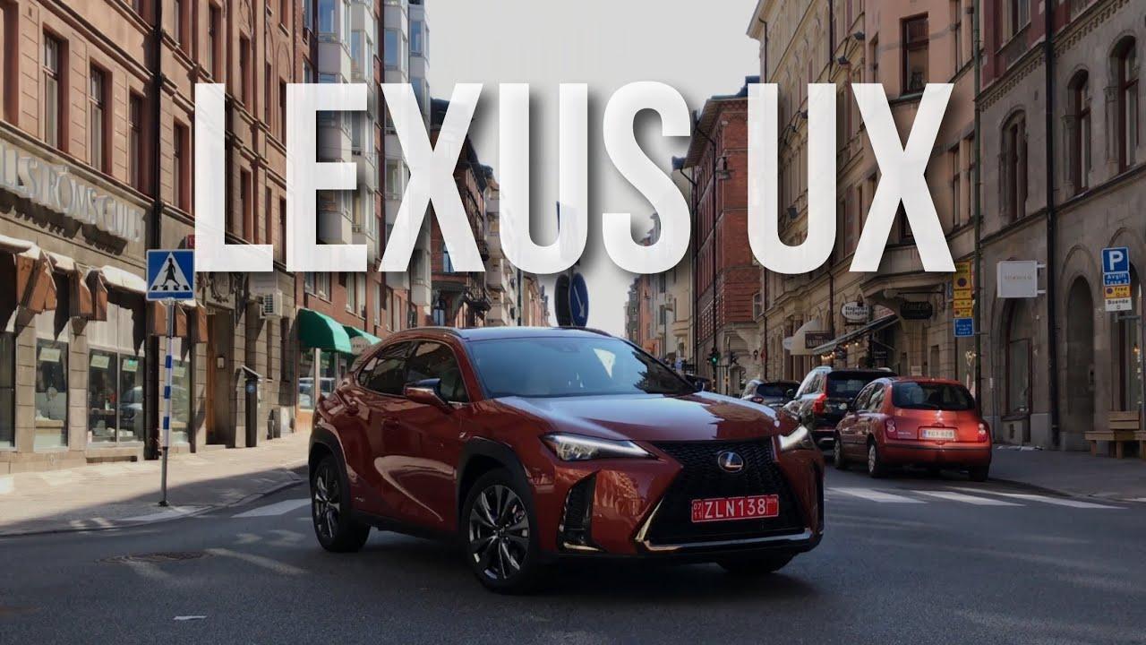 Lexus UX Тест Драйв и Обзор