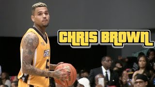 Chris Brown & GAME Co-MVPs of BET Celebrity Basketball Game + Dunk Contest
