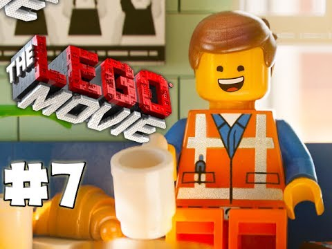 THE LEGO MOVIE VIDEOGAME - LEGO BRICK ADVENTURES - Part 7 - FUNNY! (HD Gameplay Walkthrough)