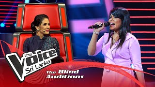 Sanchali Rathnayake - Zoobi Doobi | Blind Auditions | The Voice Sri Lanka