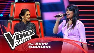 Sanchali Rathnayake - Zoobi Doobi | Blind Auditions | The Voice Sri Lanka