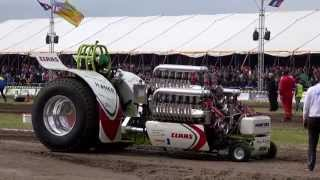 Heavy Modifieds Euro Cup Tractor Pulling @ Made 2015