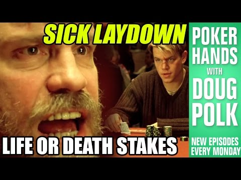 Poker Hands - Mike McDermott Lays Down A MONSTER?!