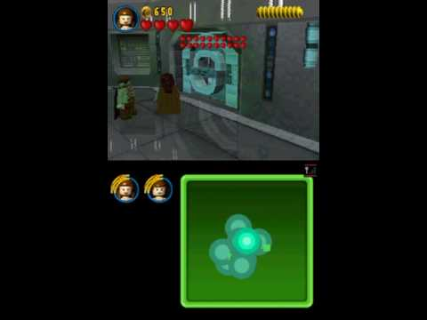 Lego Star Wars The Complete Saga (Nintendo DS) Gameplay