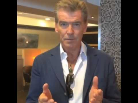 Pierce Brosnan - United Nations PSA   Climate Action - 09-19-2014