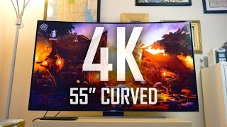 My first 4K Curved Smart TV   Is the Curve worth it?