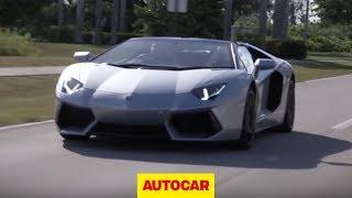 Lamborghini Aventador Roadster drive review - autocar.co.uk