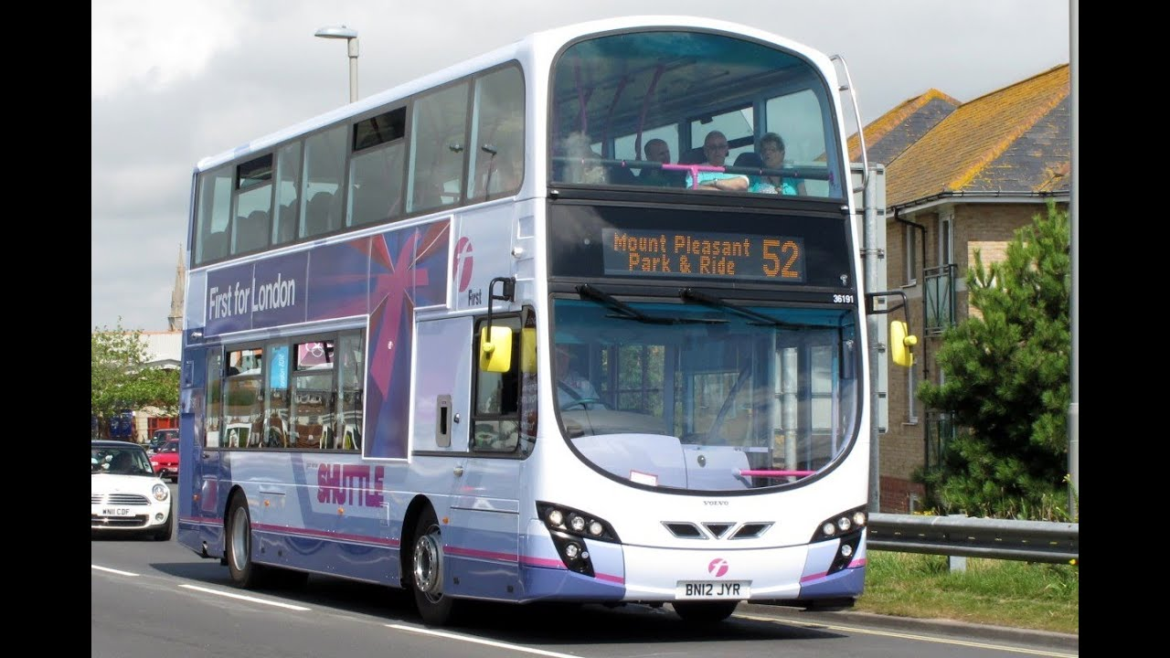 Olympic Buses First Group Weymouth August 2012 Youtube