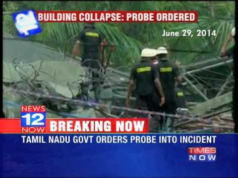 Probe into Chennai building collapse
