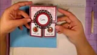 How to make a single layer dutch fold card base