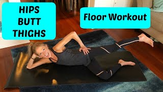 Floor Workout: Hips, Butt, & Thighs (Lean Legs Routine)