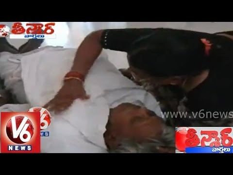 An old man died in queue during avail Physically Handicapped certificate - Teenmaar News