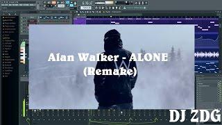 Alan Walker - Alone  [FL Studio Remake + FLP]