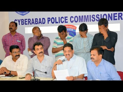 4 Fake Journalist Association Members arrested by Police at Hyderabad for extortion