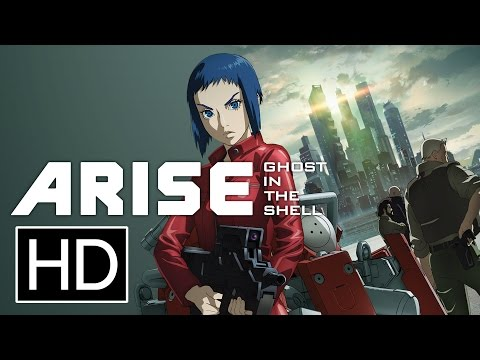Ghost in the Shell Arise : Border 1 – Ghost Pain (2013