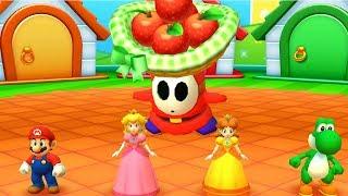 Mario Party - Star Rush Minigames:  Mario vs Peach vs Daisy vs Yoshi