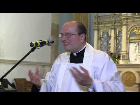 """Mary's presence in the Sacraments"": Sermon by Fr Tom Dubois. A Day With Mary"