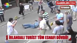 1 Irish vs 10 Kurds Figth..