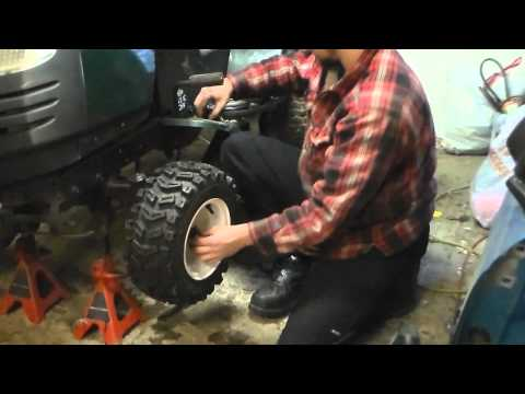 Front tire upgrade Mud mower Cheap