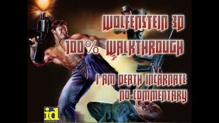 Wolfenstein 3D Walkthrough (100%) - Part 01 - Episode 1 Floor 1