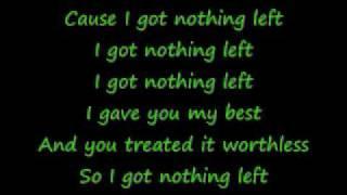 Watch Celine Dion I Got Nothin Left video