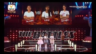 ?? & ???? & ??? - in Love With The Monster (The Battles Week 1 | The Voice Kids Cambodia Season 2)