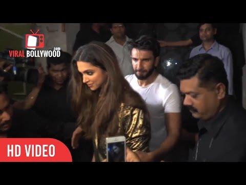 Ranveer Singh being all protective about Deepika Padukone