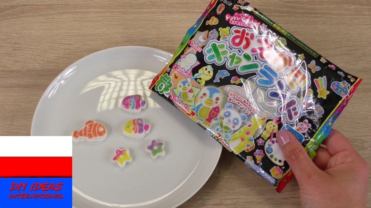 Test zestawu Popin' Cookin'   słodycze DIY   Kracie Oekaki Animal