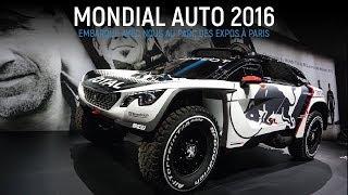 Mondial de l'Automobile 2016 - Clip