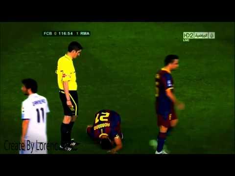 Cristiano Ronaldo Dribbling Messi