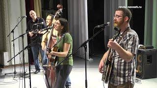 Кантри-группа из США выступила в Ревде для металлургов