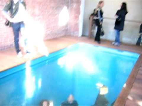 Ps1 Moma Fake Swimming Pool New York Top View Youtube