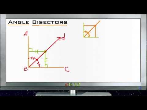Angle Bisectors Principles - Basic