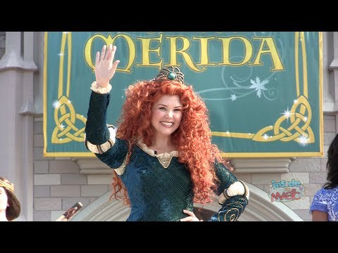 Merida becomes 11th Disney Princess in coronation ceremony at Walt Dis...